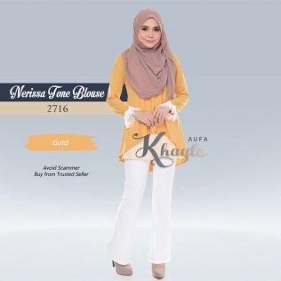 Nerissa Tone Blouse 2716 (Gold)