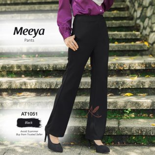 Meeya Pants AT1051 (Black)
