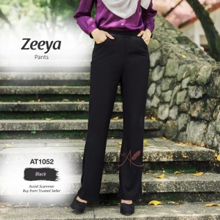 Zeeya Pants AT1052 (Black)
