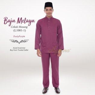Baju Melayu Cekak Musang L1001-1 (DustyPurple)
