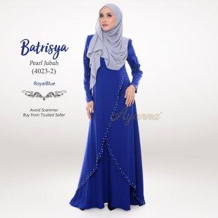Batrisya Pearl Jubah 4023-2 (RoyalBlue)