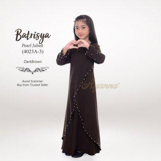 Batrisya Pearl Jubah 4023A-3 (DarkBrown)