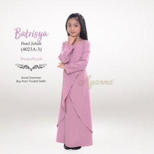 Batrisya Pearl Jubah 4023A-3 (SmokeyPurple)