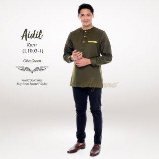 Aidil Kurta L1003-1 (OliveGreen)