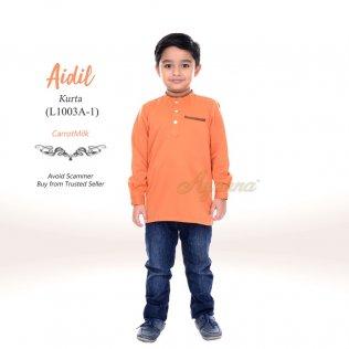 Aidil Kurta L1003A-1 (CarrotMilk)