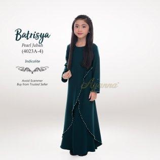 Batrisya Pearl Jubah 4023A-4 (Indicolite)
