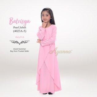 Batrisya Pearl Jubah 4023A-5 (Babypink)