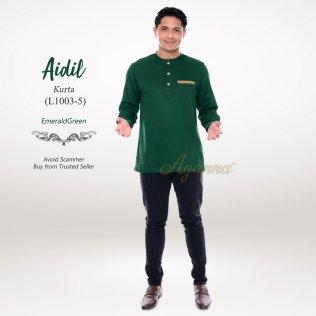 Aidil Kurta L1003-5 (EmeraldGreen)