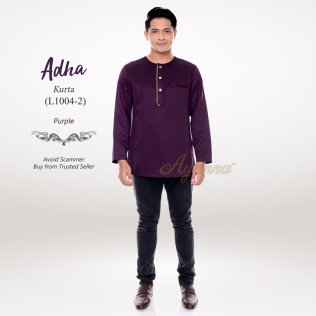 Adha Kurta L1004-2 (Purple)