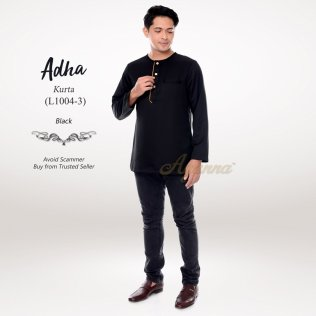 Adha Kurta L1004-3 (Black)