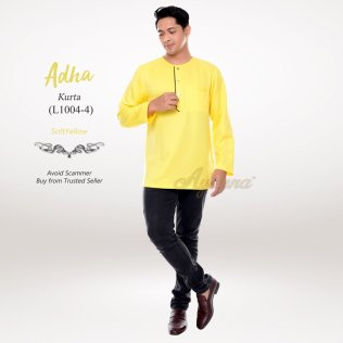 Adha Kurta L1004-4 (SoftYellow)