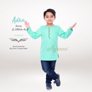 Adha Kurta L1004A-4 (Turquoise)