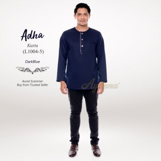 Adha Kurta L1004-5 (DarkBlue)