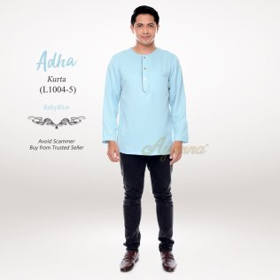 Adha Kurta L1004-5 (BabyBlue)