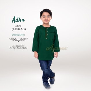 Adha Kurta L1004A-5 (EmeraldGreen)