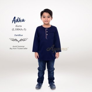 Adha Kurta L1004A-5 (DarkBlue)
