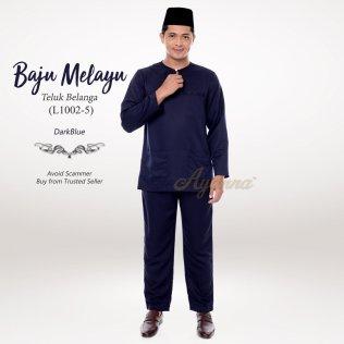 Baju Melayu Teluk Belanga L1002-5 (DarkBlue)