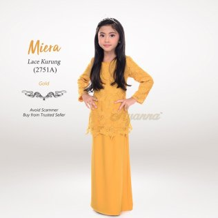Miera Lace Kurung 2751A (Gold)