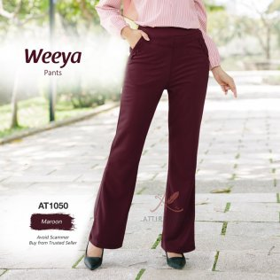Weeya Pants AT1050 (Maroon)