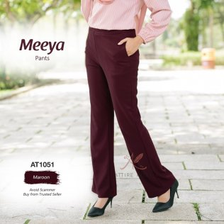 Meeya Pants AT1051 (Maroon)